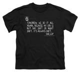 Youth: Axe Cop - Always Shift T-Shirt
