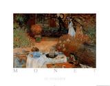 Claude Monet Le Dejeuner Art Print Poster Poster