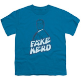 Youth: Superman - Fake Nerd Shirt