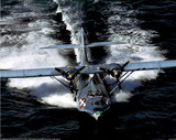 PBY5A Catalina (On Water) Art Poster Print Photo