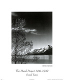 Ansel Adams (Grand Teton Park) Art Print Poster Prints
