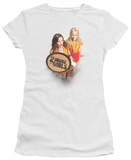 Juniors: 2 Broke Girls - Tips Really T-shirts