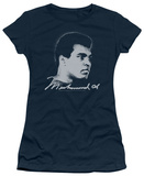 Juniors: Muhammad Ali - Looking Left T-shirts