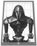 Battlestar Galactica Cylon - Target Practice (Trapezoid shaped) TV Poster Photo