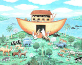Noah's Ark (Religious) Art Print Poster Photo