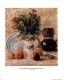 Vincent Van Gogh Vase Of Flowers Coffee Pot Art Print Poster Print