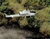 AH-1W Super Cobra (Over Water) Art Poster Print Plakaty