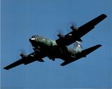 C-130 (In Sky) Art Poster Print Posters