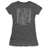 Juniors: Braveheart - Freedom T-shirts
