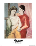 Pablo Picasso (The Lovers) Art Print Poster Poster