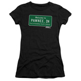 Juniors: Parks & Recreation - Pawnee Sign T-Shirt