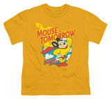 Youth: Mighty Mouse - Mouse of Tomorrow T-shirts