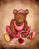 Teddy Bear Ballet (Bearcracker) Art Print Poster Prints
