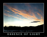 Essence of Light (Sky) Photo Print Poster Posters