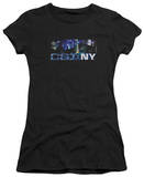 Juniors: CSI New York - NY Never Rests T-shirts