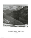 Ansel Adams Mural Project Long&#39;s Peak Art Print POSTER Photo