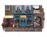 Le Bistro Art Print Poster Posters