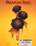 Leonetto Cappiello Parapluie Revel Umbrellas Art Print Poster Photographie