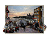 Jose (Evening in Venice) Art Print Poster Posters