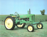 1947 John Deere Tractor, Photo Print Poster Photo