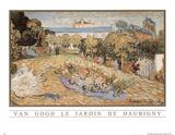 Vincent Van Gogh (Le Jardin De Daubigny) Art Print Poster Print