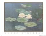 Claude Monet Nympheas Art Print POSTER Water Lilypads Prints