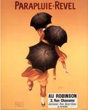 Leonetto Cappiello Parapluie Revel Umbrellas Art Print Poster - Afiş