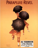 Leonetto Cappiello Parapluie Revel Umbrellas Art Print Poster Prints