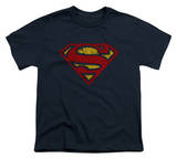 Youth: Superman - Crackle S T-Shirt