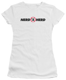 Juniors: Chuck - Nerd Herd T-shirts
