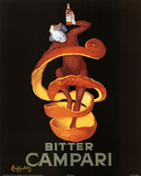 Leonetto Cappiello Bitter Campari Vintage Ad Art Print Poster Photo