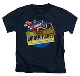 Youth: Charlie and the Chocolate Factory - Golden Ticket T-shirts