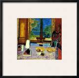 Bonnard: Dining Room Framed Giclee Print by Pierre Bonnard