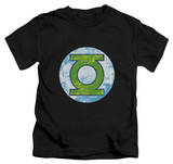 Youth: Green Lantern - GL Neon Distress Logo T-Shirt