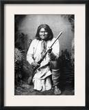 Geronimo (1829-1909) Framed Photographic Print