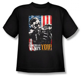 Youth: Watchmen - The Comedian Wants You T-shirts