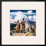Wyeth: Sacajawea Framed Giclee Print by Newell Convers Wyeth