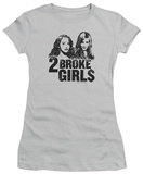Juniors: 2 Broke Girls - Broke Girls Shirt