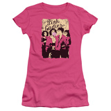 Juniors: Grease - Pink Ladies T-Shirt