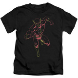 Youth: The Flash - Neon Flash T-shirts