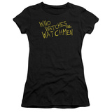Juniors: Watchmen - Who Watches T-shirts