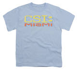 Youth: CSI Miami -Miami Distressed Logo T-Shirt