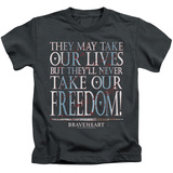 Youth: Braveheart - Freedom Shirts