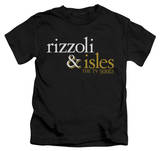 Youth: Rizzoli & Isles - Logo T-Shirt