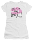 Juniors: Gossip Girl - You Love Me Shirts