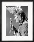 Sioux Native American, C1900 Framed Photographic Print by Gertrude Kasebier
