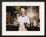 Soda Jerk, 1939 Framed Photographic Print by Russell Lee