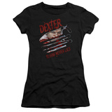 Juniors: Dexter - Blood Never Lies Shirt