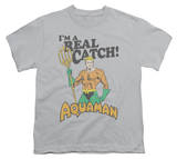 Youth: Aquaman - Real Catch T-shirts