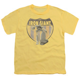 Youth: The Iron Giant - Iron Giant Patch T-Shirts